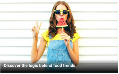 Discover the logic behind food trends